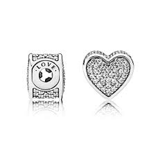 Pandora Charm Love di ESSENCE COLLECTION 796084CZ