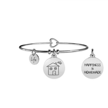 Bracciale Kidult Home Family Life Collection Acciaio 231572