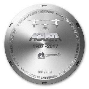 Il Fondello dell'Orologio Agusta 110°Anniversario
