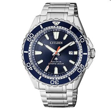 Orologio Citizen Promaster Diver's Acciaio Eco-Drive Solo Tempo BN0191-80L
