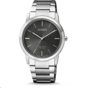Orologio Citizen Super-Titanio Solo Tempo Acciaio Nero FE7020-85H