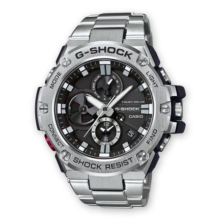Casio G-Shock Bluetooth Resina Acciaio Antiurto GST-B100D-1AER