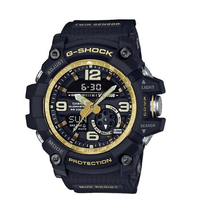 Casio Orologio G-Shock Cassa Resina Nero Oro GG-1000GB-1AER