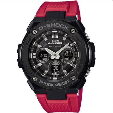 Orologio Casio G-Shock Cassa Acciaio Cinturino Resina GST-W300G-1A4ER