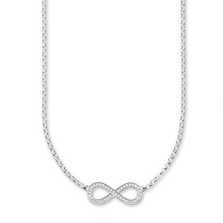 Thomas Sabo Collier Infinity Argento Sterling KE1312-051-14