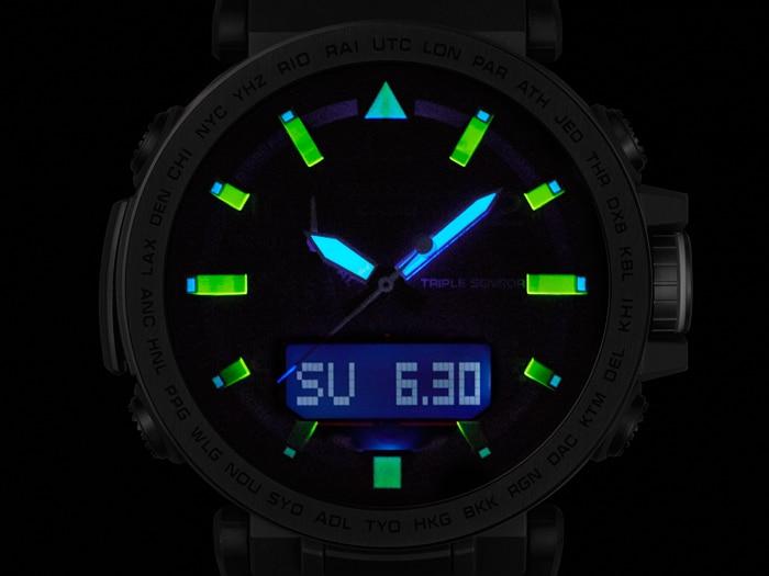 Orologio Casio Pro Trek Prg 650y 1er Multifunzioni