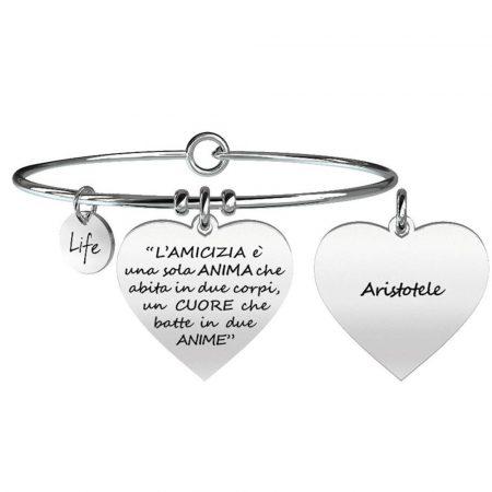 Bracciale Kidult in acciaio Love Life L'Amicizia 731095