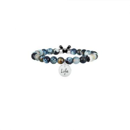 Bracciale Kidult Agata Nera Symbols Life Collection 231529