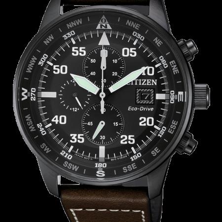 Orologio Citizen Crono Aviator Eco-Drive CA0695-17E