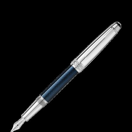Stilografica Montblanc Meisterstuck Solitaire Doué Blue Hour 112893