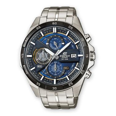 Orologio Casio Edifice Acciaio Quadrante Blu Impermeabile EFR556DB-2AVUEF