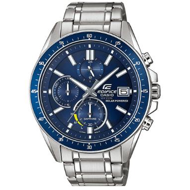 Orologio Casio Edifice cinturino Cassa Acciaio Quadrante Blu EFS-S510D-2AVUEF