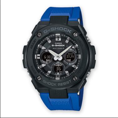 Orologio Casio G-Shock Cassa Acciaio Cinturino ResinaGST-W300G-2A1ER