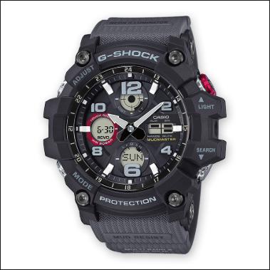 Orologio Casio G-Shock Cassa Cinturino Resina Nera GWG-100-1A8ER
