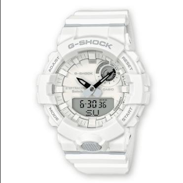 Orologio G-Shock Casio Bluetooth Bianco Opaco GBA-800-7AER