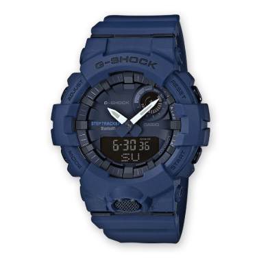 Orologio G-Shock Casio Bluetooth Blu Opaco GBA-800-2AER