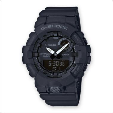 Orologio G-Shock Casio Bluetooth Nero Opaco GBA-800-1AER