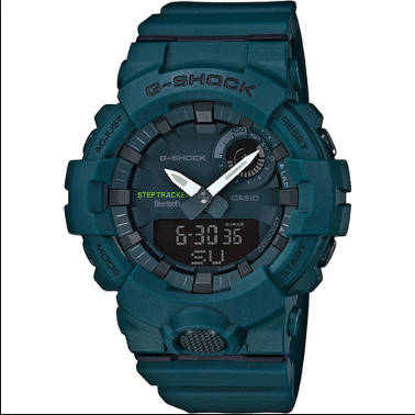 Orologio G-Shock Casio Bluetooth Verdone Opaco GBA-800-3AER