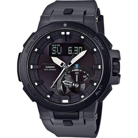 Casio Orologio G-Shock Cassa Acciaio Resina Carbonio PRW-7000-8ER