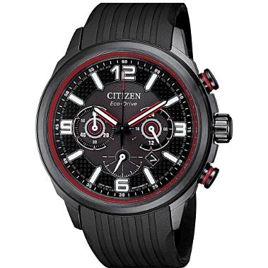 Orologio Citizen Crono Racing 4381 Eco-Drive Acciaio Caucciu CA4386-10E