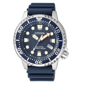 Orologio Citizen Eco-Drive Diver's 20 Bar Cinturino Blu BN0151-17L