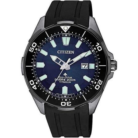 Orologio Citizen Promaster Diver's Titanio Eco-Drive Caucciù BN0205-10L