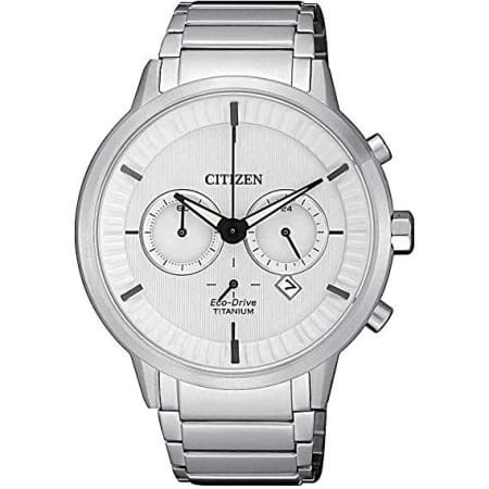 Orologio Citizen Supertitanio Finitura Platino Chrono Eco-Drive CA4400-88A
