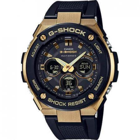 Orologio Casio G-Shock Cassa Acciaio Cinturino Resina GST-W300G-1A9ER