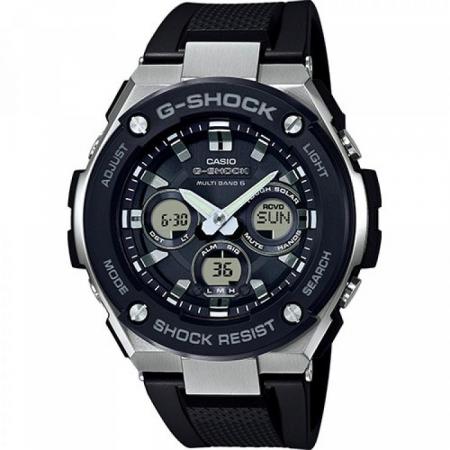 Orologio Casio G-Shock Cassa Acciaio Cinturino Resina GST-W300-1AER