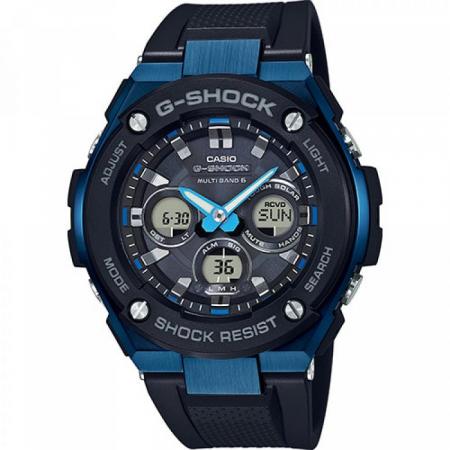 Orologio Casio G-Shock Cassa Acciaio Cinturino Resina GST-W300G-1A2ER